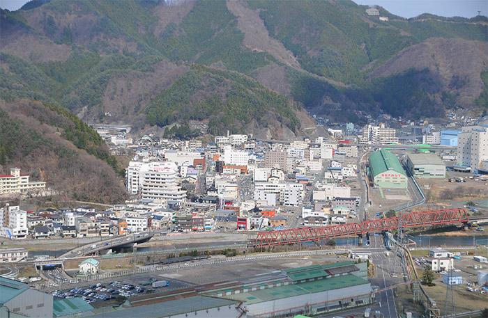 釜石市東部地区