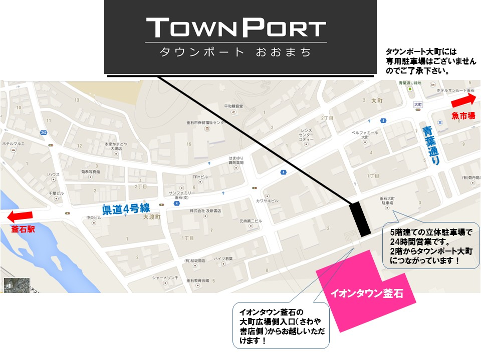 タウンポート所在地図